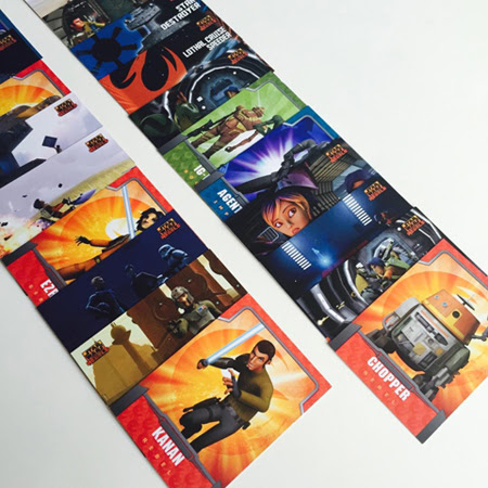 Star Wars Rebels Topps Cards Giveaway | Anakin And His Angel