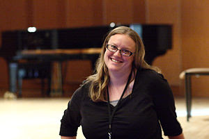 Phoebe Ayers at WikiSym 2010
