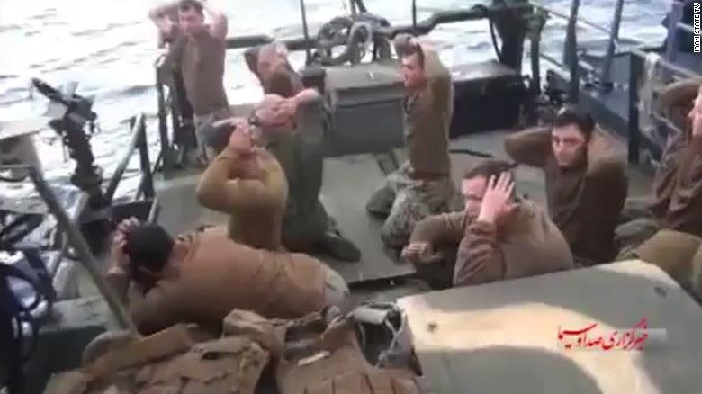 Video shows U.S. sailors' capture