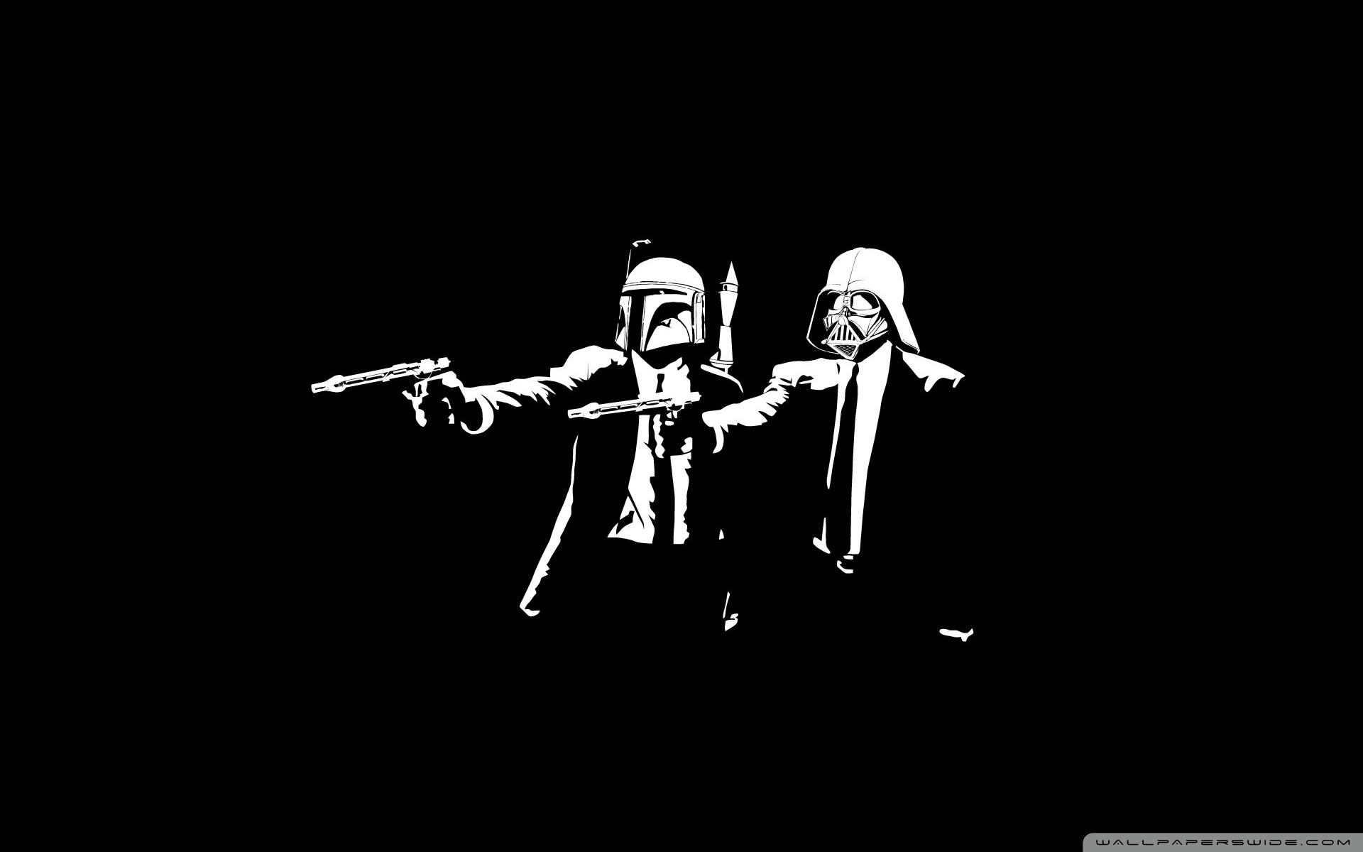 Star Wars Pulp Fiction Ultra Hd Desktop Background Wallpaper For