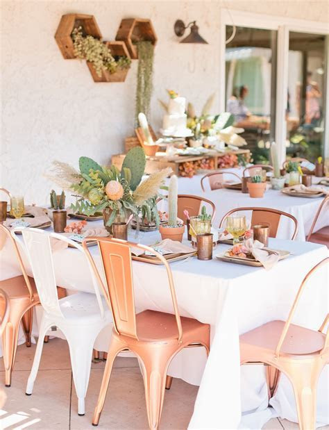 Cactus Inspired Bridal Shower   My Somedays??   Summer