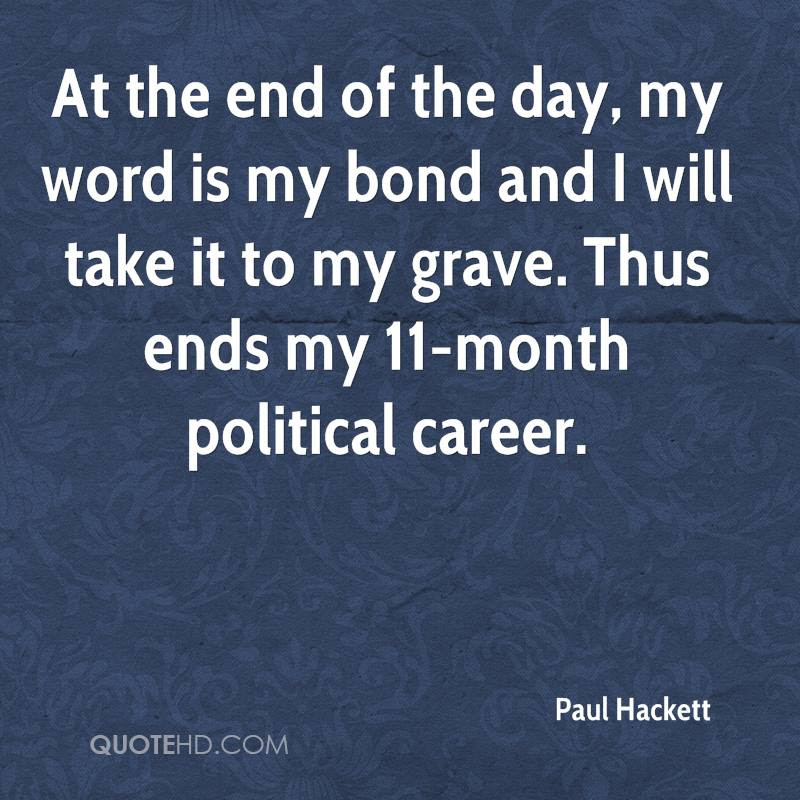 Paul Hackett Quotes Quotehd