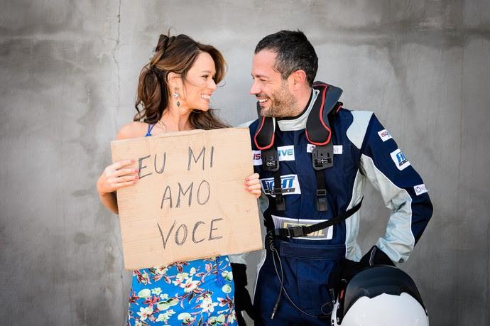 Mariana e Malvino serão os apaixonados Tancinha e Apolo, em Haja Coração  (Foto: Ramón Vasconcelos/Gshow)