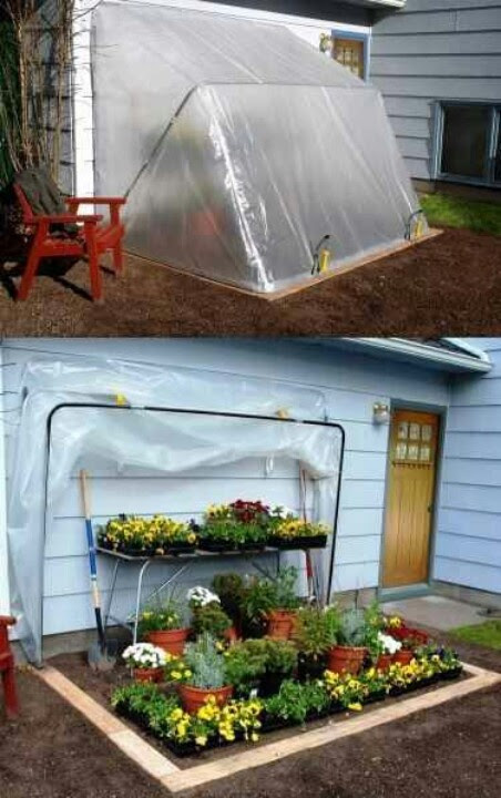 Awesome idea for small gardening | Small backyard designs | Pinterest