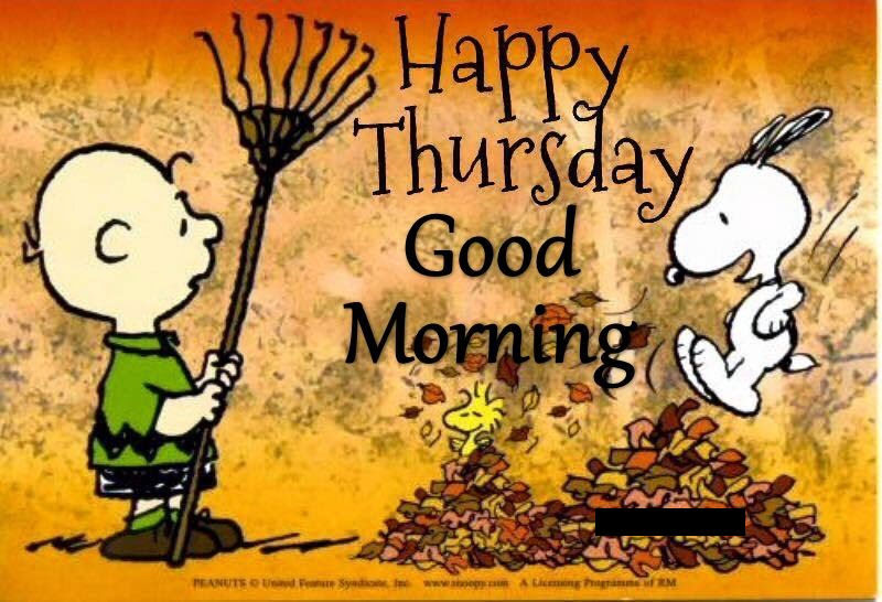 Snoopy Happy Thursday Good Morning Quote Pictures Photos And