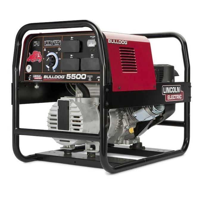 Lincoln Electric 9 Hp 3600 Rpm Stick Welder Generator In The Welder Generators Department At Lowes Com