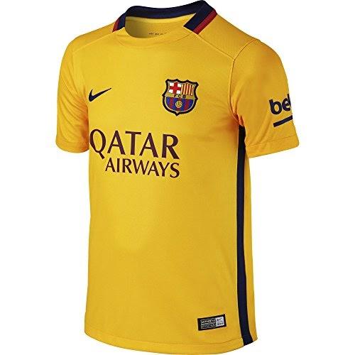Más Barato 2ª Equipación Fútbol Club Barcelona 2015 2016 - Camiseta oficial  Nike para niño 80feb92db7431
