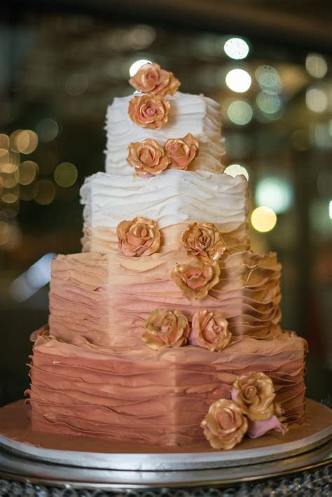Southern Blue Celebrations: ROSE GOLD / BLUSH CAKES