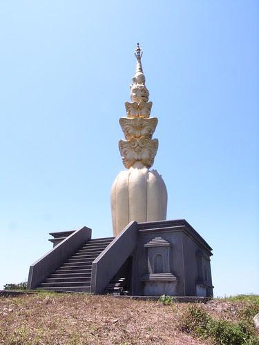 靈鳩山:十一面觀音塔