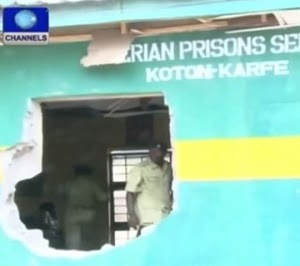 BREAKING: Another Prison Break In Kogi Medium Prison, 13 Inmates Escape