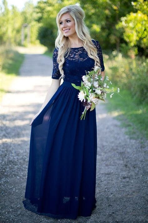 Cheap 2018 Country Bridesmaid Dresses Hot Long For