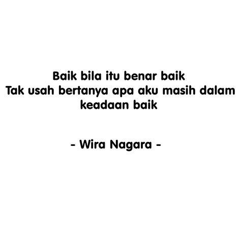 lirik puisi aritmia wira nagara