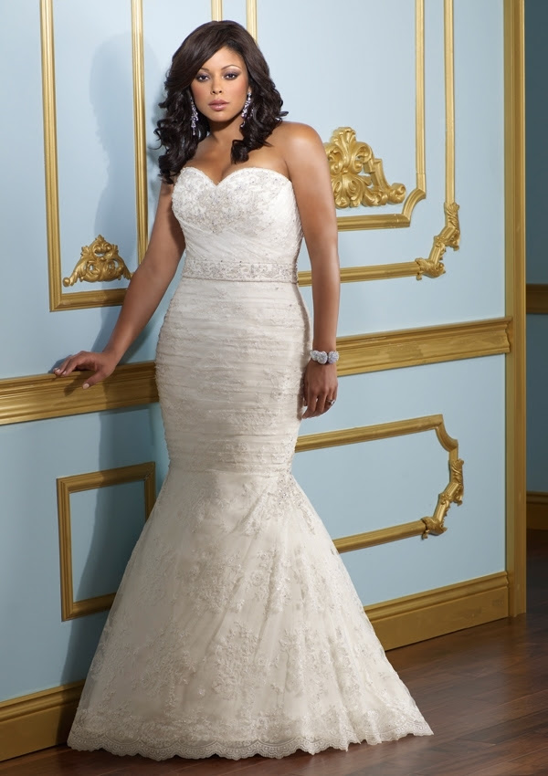 plus-size wedding dressses
