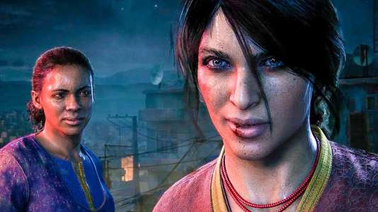 Nadine Ross et Chloe Frazer dans « Uncharted : The Lost Legacy ».