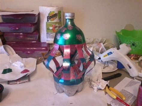 whirly gig     liter bottle bottle crafts