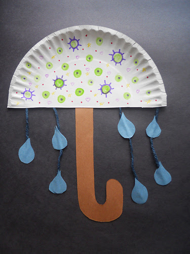 Papīra Plate Umbrella