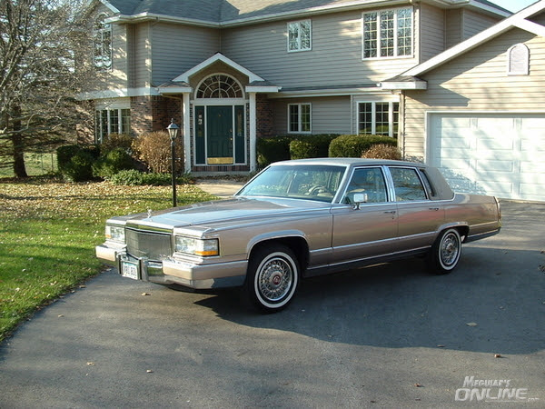 1991 Cadillac Brougham in Antelope Firemist - Meguiars ...