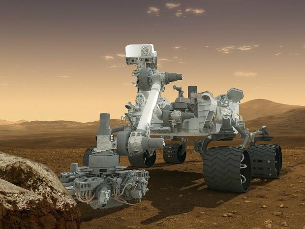 Curiosity 3 (Foto: Reuters/Nasa-JPL)