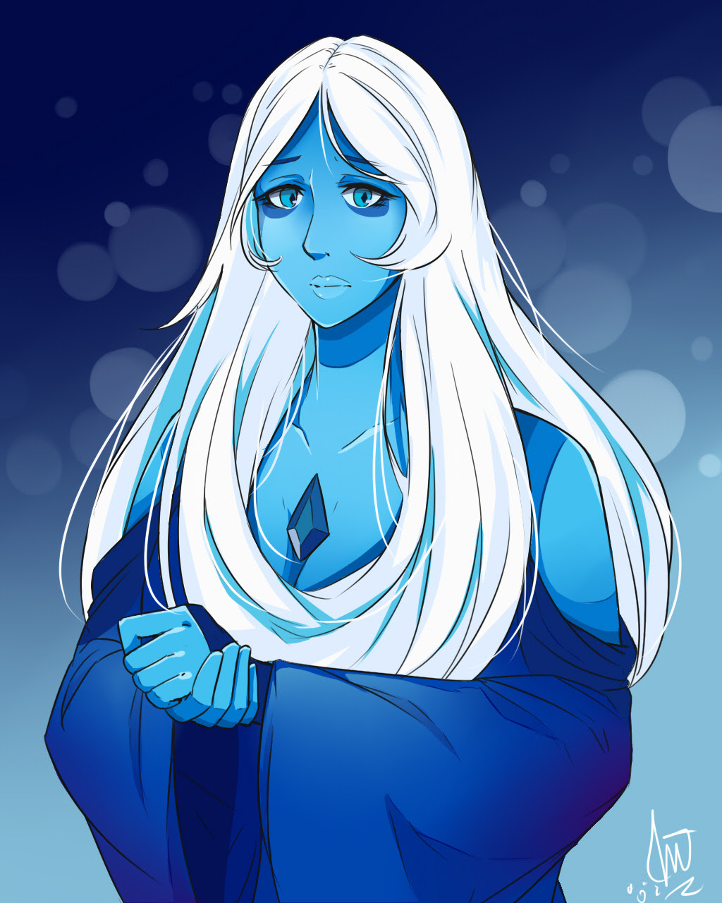 So hyped for the leaks and spoilers of Steven Universe, and I loved Blue Diamond and Yellow Diamond together~~~~