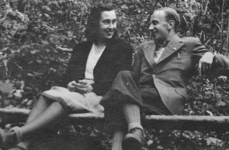 In amore: Olga e Giulio a Zagabria prima del suo arresto