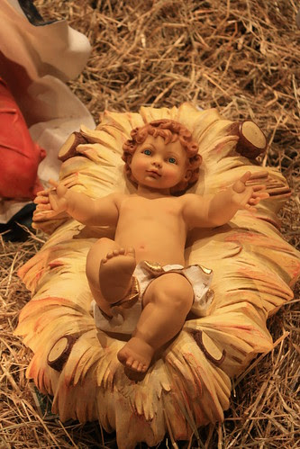 St. Michael's Christmas Creche - Young Christ Child