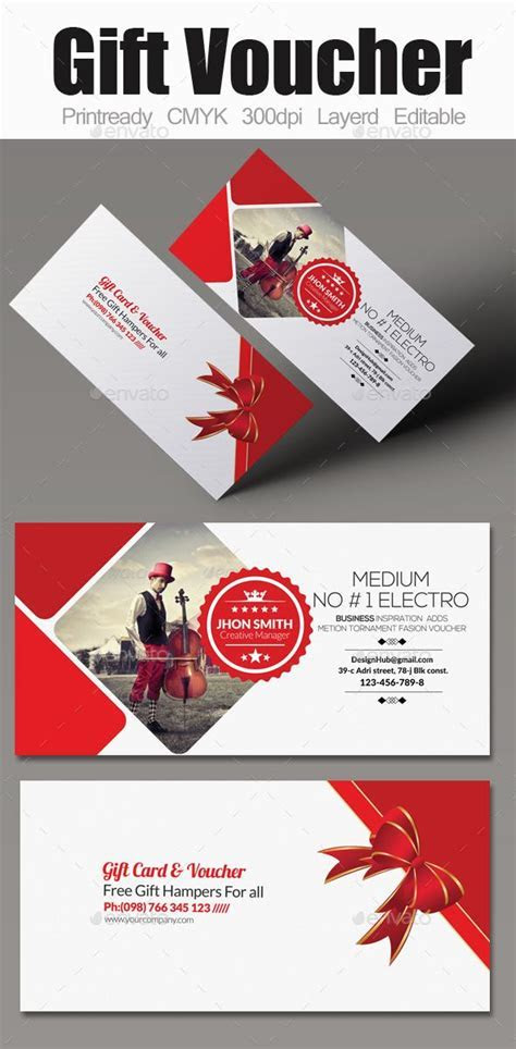 25  best ideas about Gift Voucher Design on Pinterest