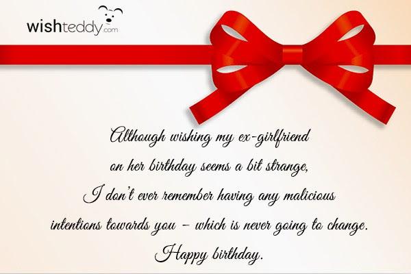 Birthday Wishes For Ex Boyfriend Page 4