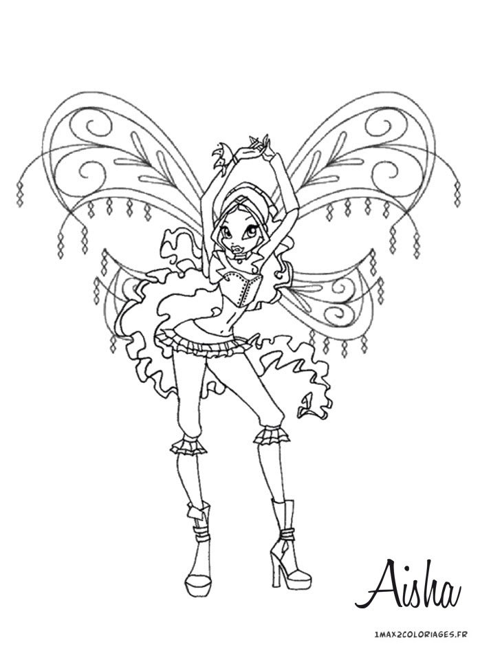 Coloriage Winx Animaux Dessin Auto Electrical Wiring Diagram