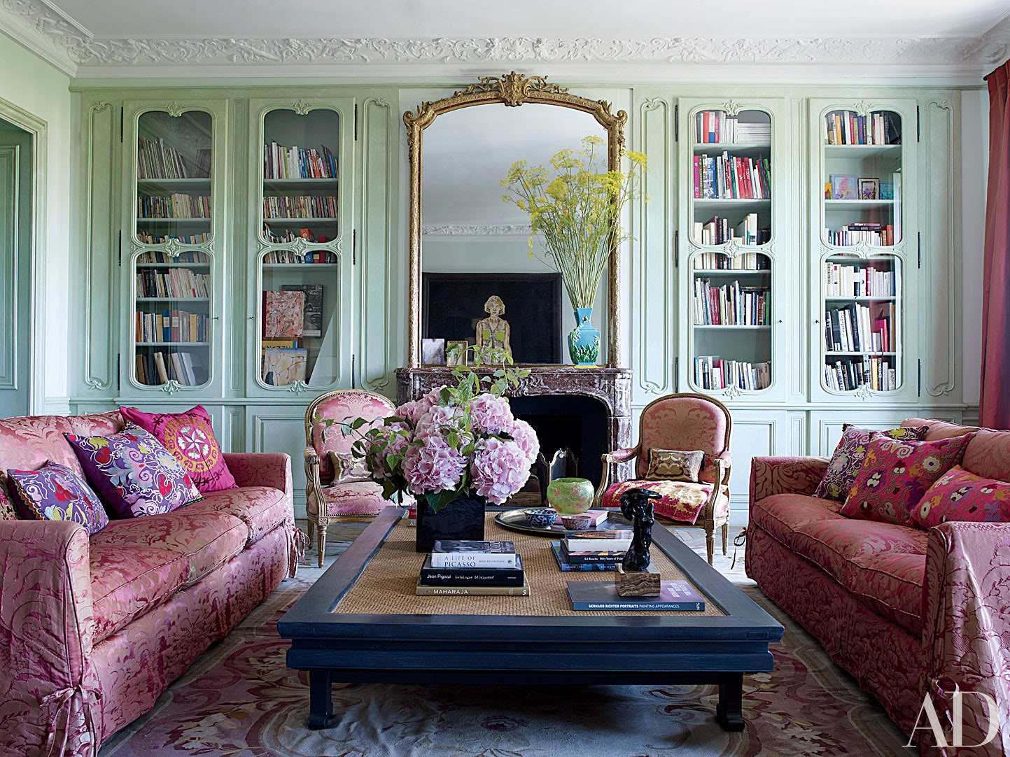 12 Unforgettable Parisian Apartments and Homes Photos  Architectural Digest