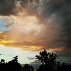 #storm #sky #summer #sunset