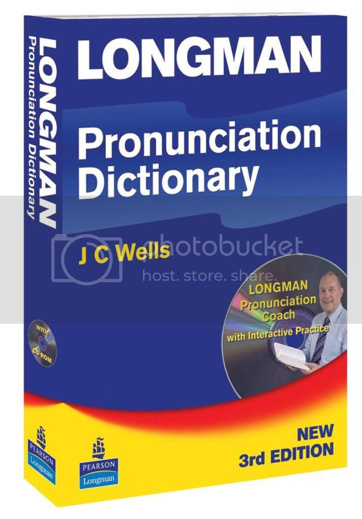 Longman Pronunciation Dictionary   Cd-room (3rd Ed), ISBN: 9781405881180Author: J C WellsLanguage: ENGLISHDate Published: Juli 2008Type: SOFT COVERNo. of Pages: 922Dimensions (cm): 15 x 21.5
