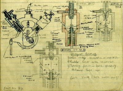 aviation schematic from WWII naval school