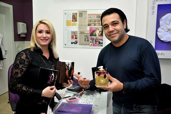 A empresária e dermaticista, Patrícia Souto recebeu o deputado federal Marco Feliciano em seu Centro de Estética  (Orval Molina | Agência A)