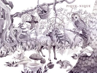 ピクニック壁紙 木目 動物イラスト ワインレッド スタッフブログ