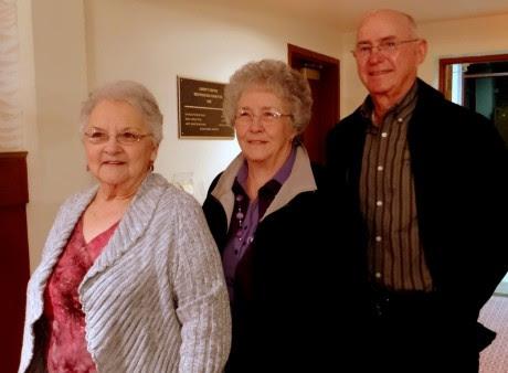 Renola Simon, Sue and Cliff Granger