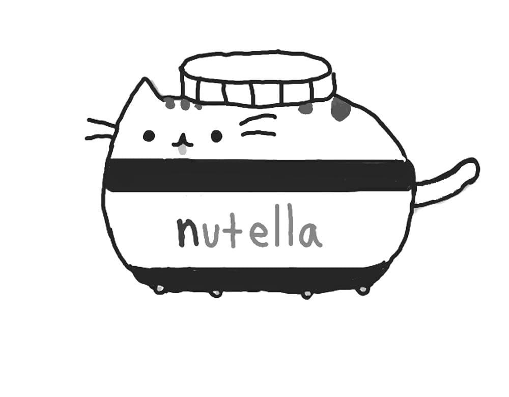 Pusheen Colouring Pages Pusheen The Cat - Coloring And Drawing