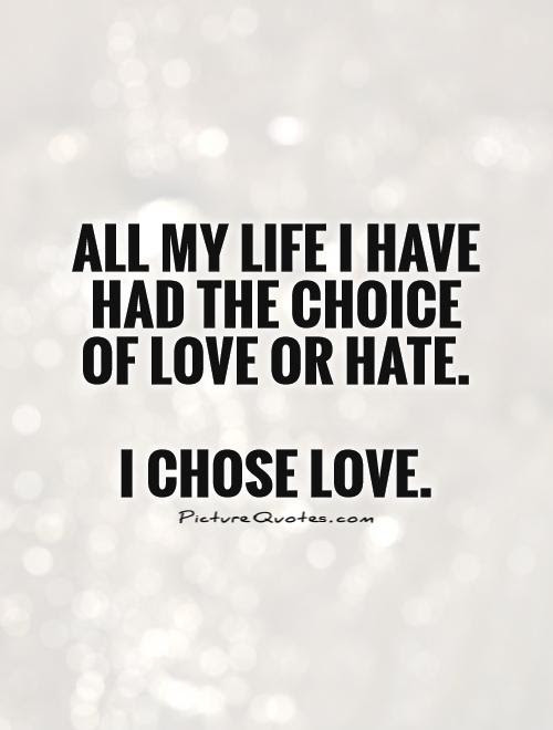 Love Or Hate Quotes Sayings Love Or Hate Picture Quotes