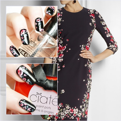 D&G_Dress_Nail_art