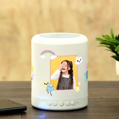 Photo Bluetooth Speaker with LED Light