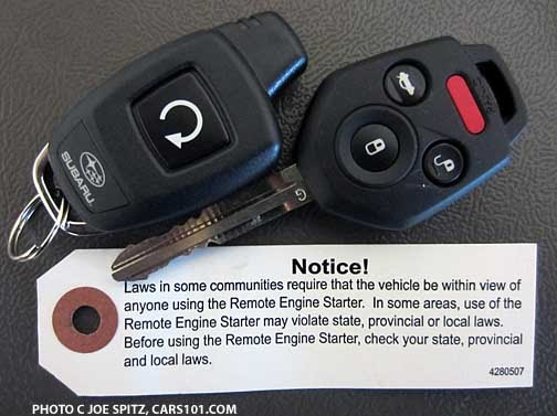 Replacement Remote Smart Fob Key For 2013 2014 2015 Subaru BRZ Forester