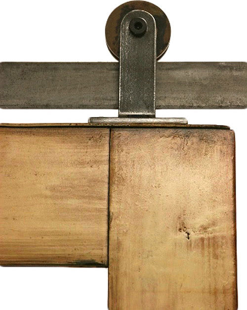 Top Mounted Barn Door Hardware - modern - hardware - salt lake ...