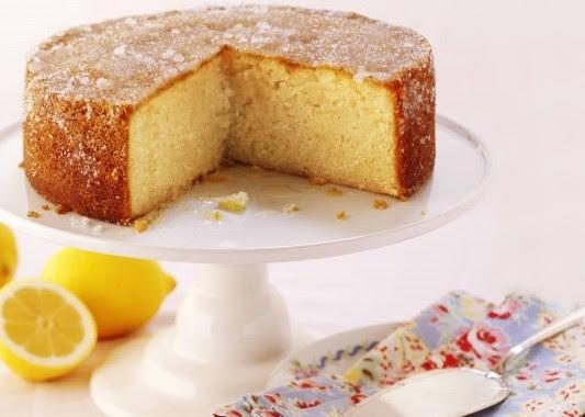 Receita de bolo de limão (cremoso)