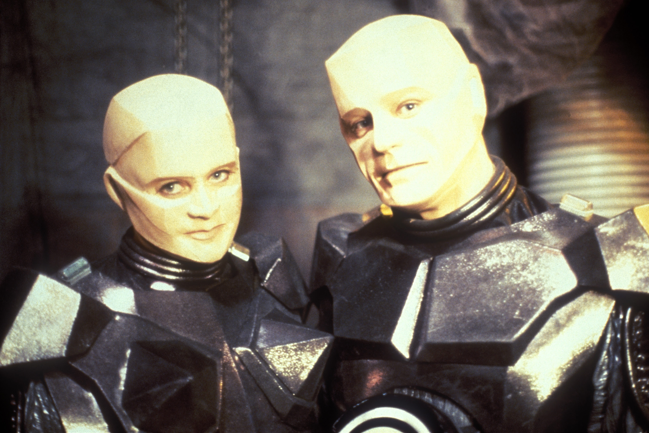 Camille and Kryten