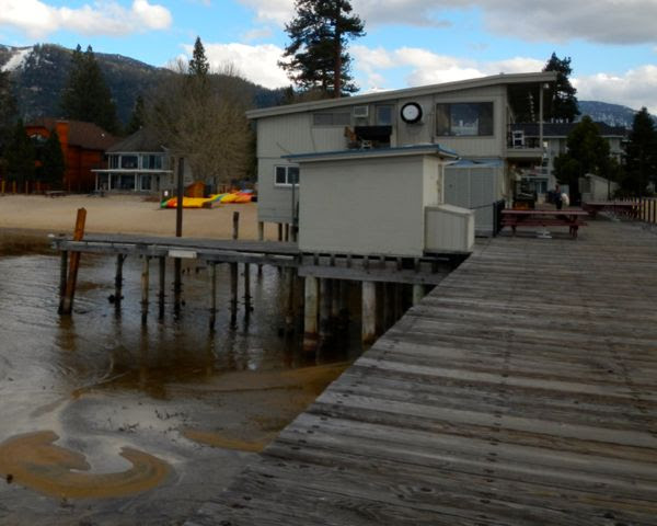 Tahoe piers-drought: Timber Cove