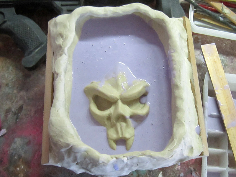 Kali Cup Mold Pouring