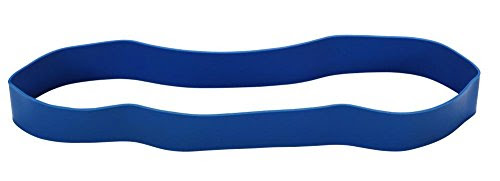 Trendy Sport Training Rubber Band Tone Loop, 29cm, Available in different levels, x-heavy-blau, X-heavy
