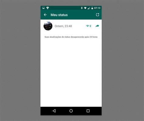 como saber quem viu  seu status  whatsapp dicas