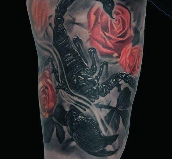 60 Scorpion Tattoo Designs For Men Ideas That Sting