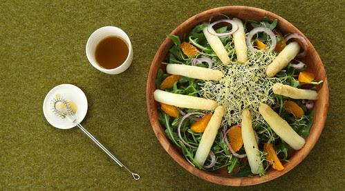 witte asperge salade met mineola 580