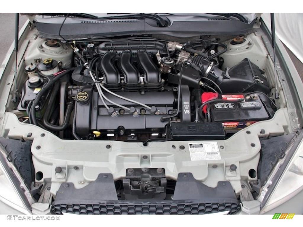 2001 Ford Taurus SES 3.0 Liter DOHC 24-Valve V6 Engine ...